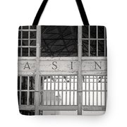 Casino Bw Tote Bag