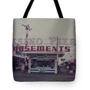 Casino Pier Amusements Seaside Heights Nj Tote Bag