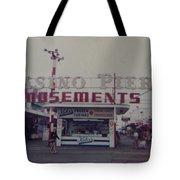 Casino Pier Amusements Seaside Heights Nj Tote Bag by Joann Renner