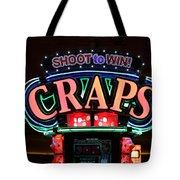 Casino Time Tote Bag