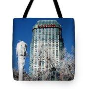 Casino Under Ice Tote Bag