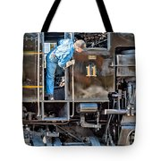 Cass Railroad Engineer Tote Bag