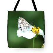 Cassius Blue On Wildflower Tote Bag