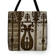 Cast Iron Fence Tote Bag