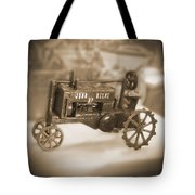 Cast Iron Toys Tote Bag