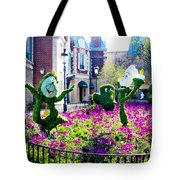 Cast Of The Beast Tote Bag