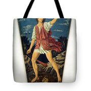Castagno's David With The Head Of Goliath Tote Bag