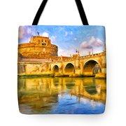 Castel Sant'angelo Tote Bag