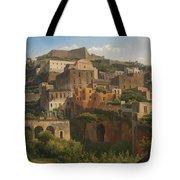 Castel Sant'elmo From Chiaia. Naples Tote Bag