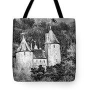 Castell Coch Mono Tote Bag