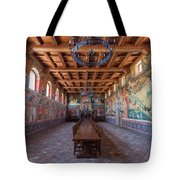 Ready For The Red Wine Wedding Castelle Di Amorosa Tote Bag