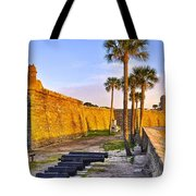 Castillo Sunrise Tote Bag