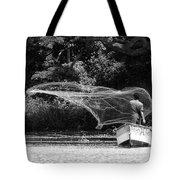 Casting On Lake Nicaragua Tote Bag