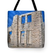 Castle And Sky Tote Bag