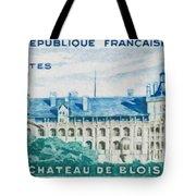 Castle Blois Tote Bag