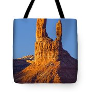 Castle Butte Tote Bag