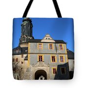 Castle Church Weimar Tote Bag