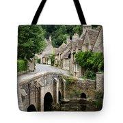 Castle Combe Cotswolds Village Tote Bag