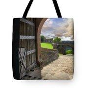 Castle Door Tote Bag