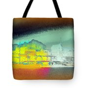 When You Dream Of A Sailship And An Old Castle  Tote Bag