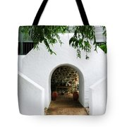 Castle Entrance Tote Bag