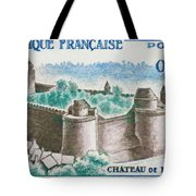 Castle Fougeres Tote Bag