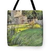 Castle Gate House Tote Bag