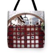 Castle Gate Tote Bag
