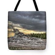 Castle Geyser - Yellowstone Tote Bag