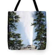 Castle Geyser Yellowstone Np Tote Bag
