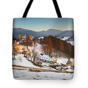 castle in northen Slovakia Tote Bag