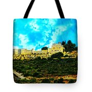 Castle In The Hot Summer Sun Tote Bag