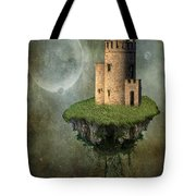 Castle In The Sky Tote Bag by Juli Scalzi