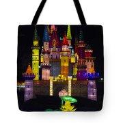 Castle Lantern Tote Bag