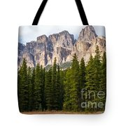 Castle Mountain Tote Bag