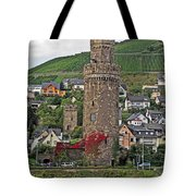 Castle Of The Rhine Tote Bag