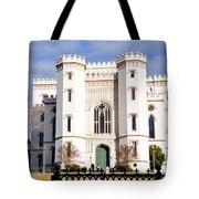 Castle On The Hill Tote Bag