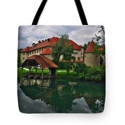 Castle Otocec Tote Bag