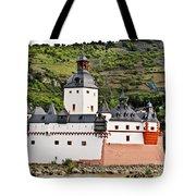 Castle Pfalzgrafenstein Tote Bag