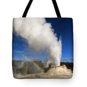 Castle Rainbow Tote Bag
