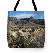 Castle Rock Mountain Tote Bag