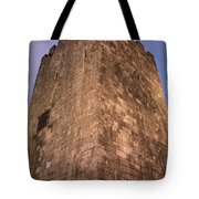 Castle Tower Tote Bag