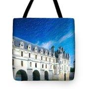 Castles Of France Tote Bag