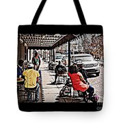 Casual Dining Tote Bag
