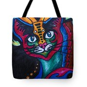 Cat 2 Tote Bag
