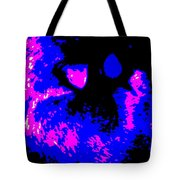 Cat Abstract Tote Bag