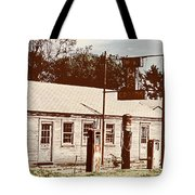 Cat Cabins And Gas Station Tote Bag