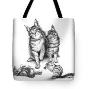 Cat Chips  Tote Bag