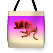 Even If Your Little Cat Is Resting In Space Or In Heaven She Still Loves You  Tote Bag