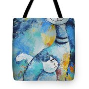 Cat Mommy Tote Bag